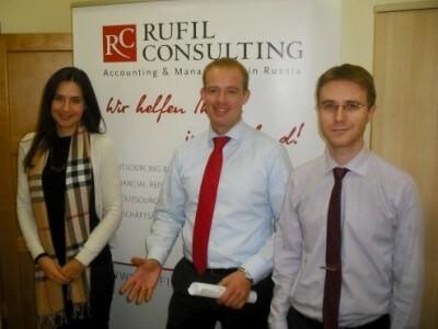 """RUFIL-CONSULTING Vorbereitung für den """"Tag der offenen Tür 2012 der AHK"""""""