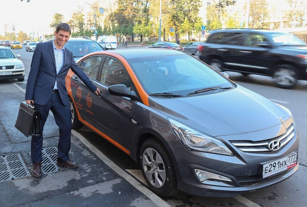 Delimobil Carsharing in Moscow