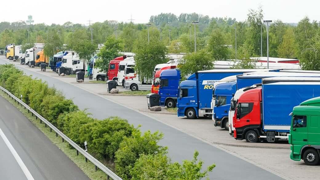 Lkw-Güterverkehr zwischen Russland und Polen gestoppt