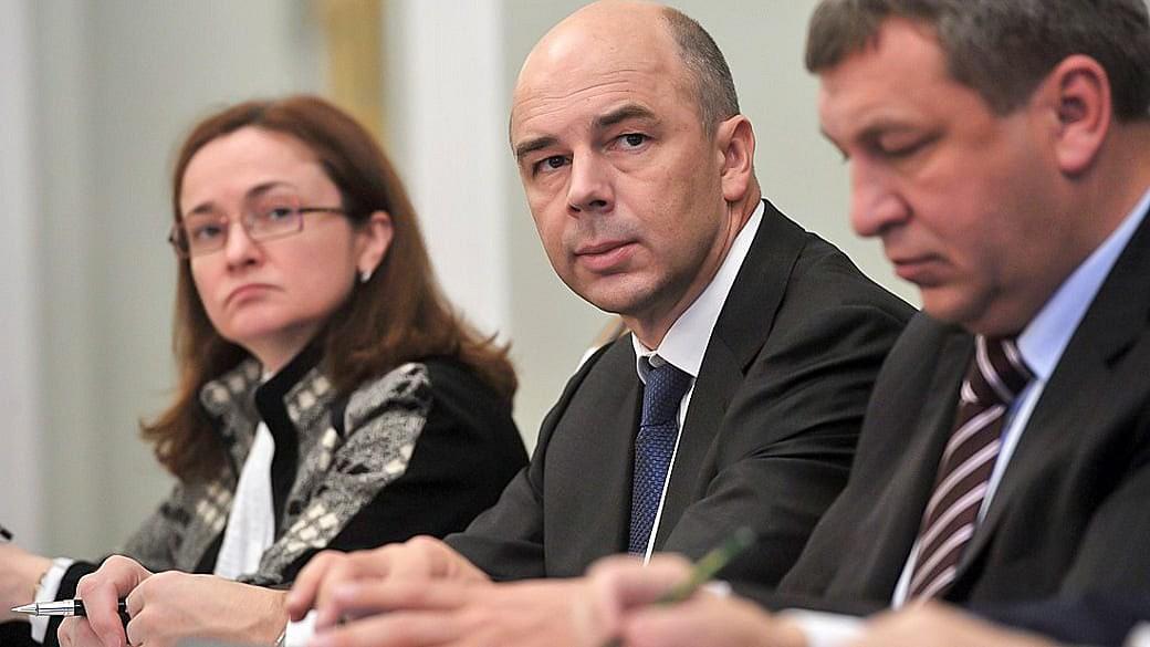 Der russische Finanzminister Siluanow