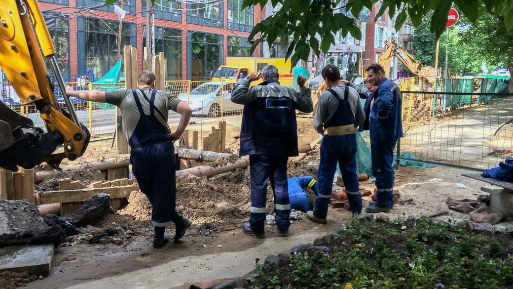 Russlands Baubranche