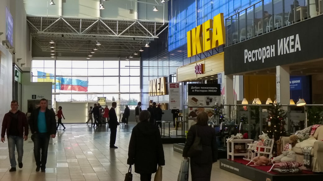 IKEA-Hauptquartier in Russland durchsucht