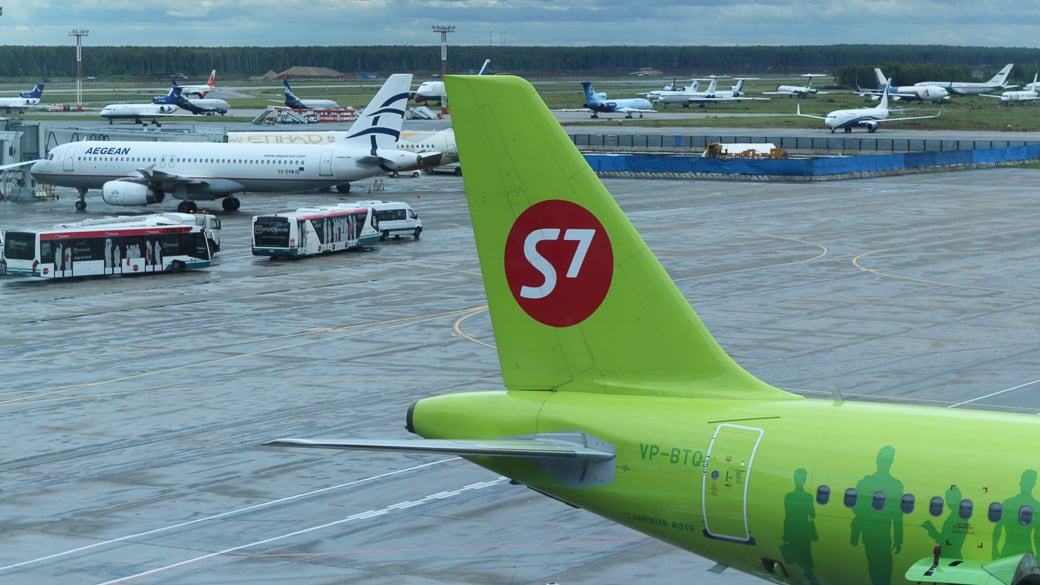 Passagierzahlen russischer Airlines nehmen weiter ab