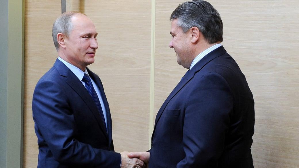 Wirtschaftsminister Gabriel plant Russland-Reise