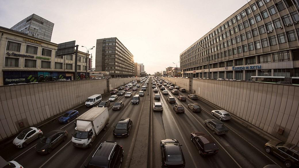 Automarkt in Russland