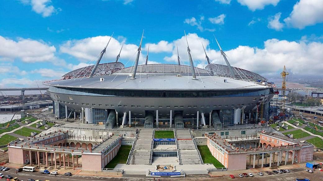 Petersburger Zenit-Stadion: Hauptauftragnehmer gefeuert