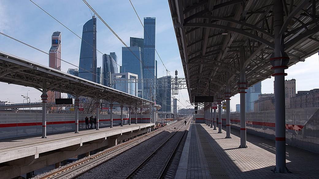 In Moskau eröffnet eine Ring-S-Bahn