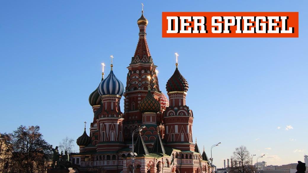 Neues Personal beim Spiegel in Moskau