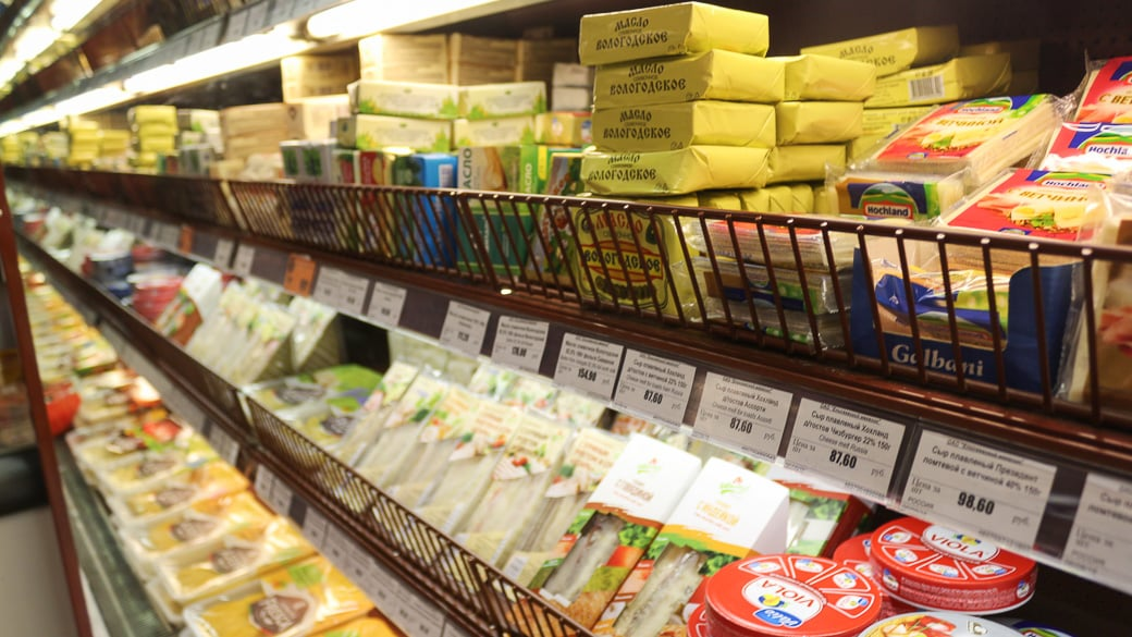 Zwei Jahre Einfuhrverbot für westliche Lebensmittel
