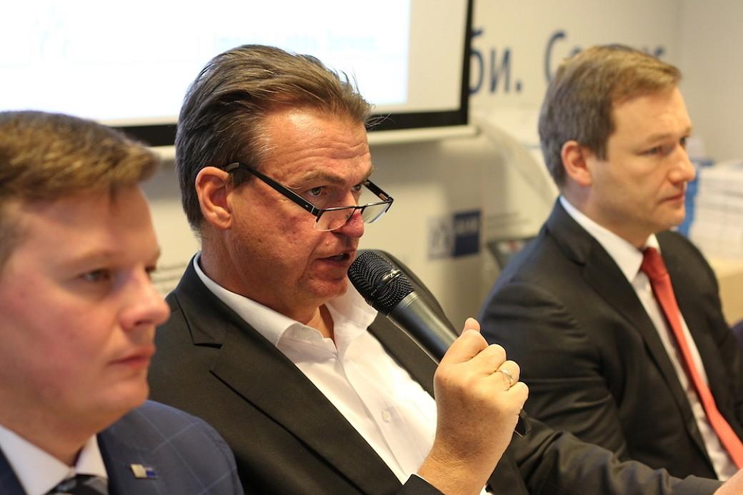 AHK-Vorstandsvorsitzender Matthias Schepp