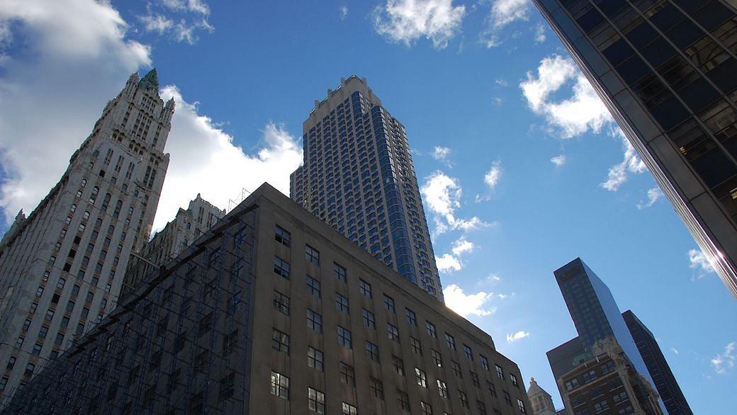 Moody's Rating-Agentur in New York City