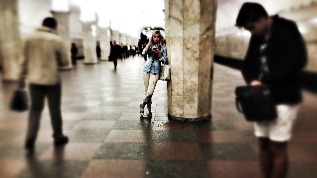 Moskau, Metro, U-Bahn