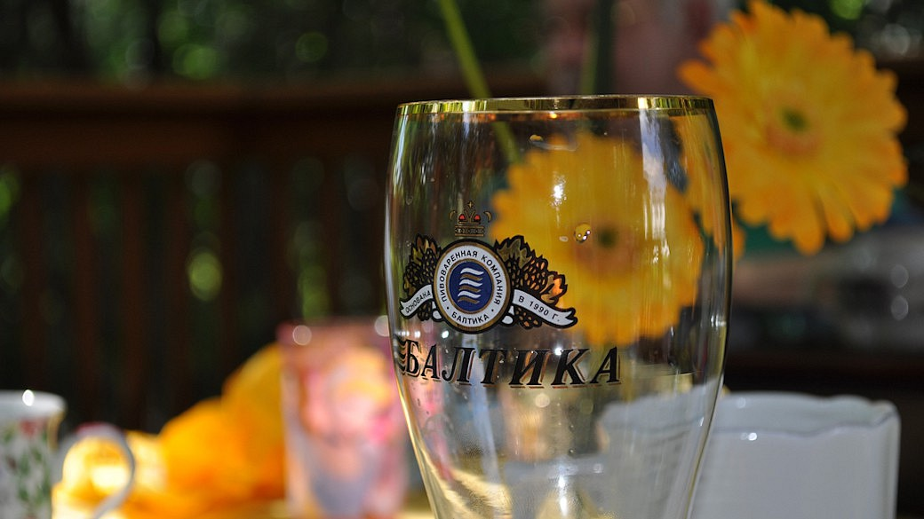 Baltika Bier, Brauerei