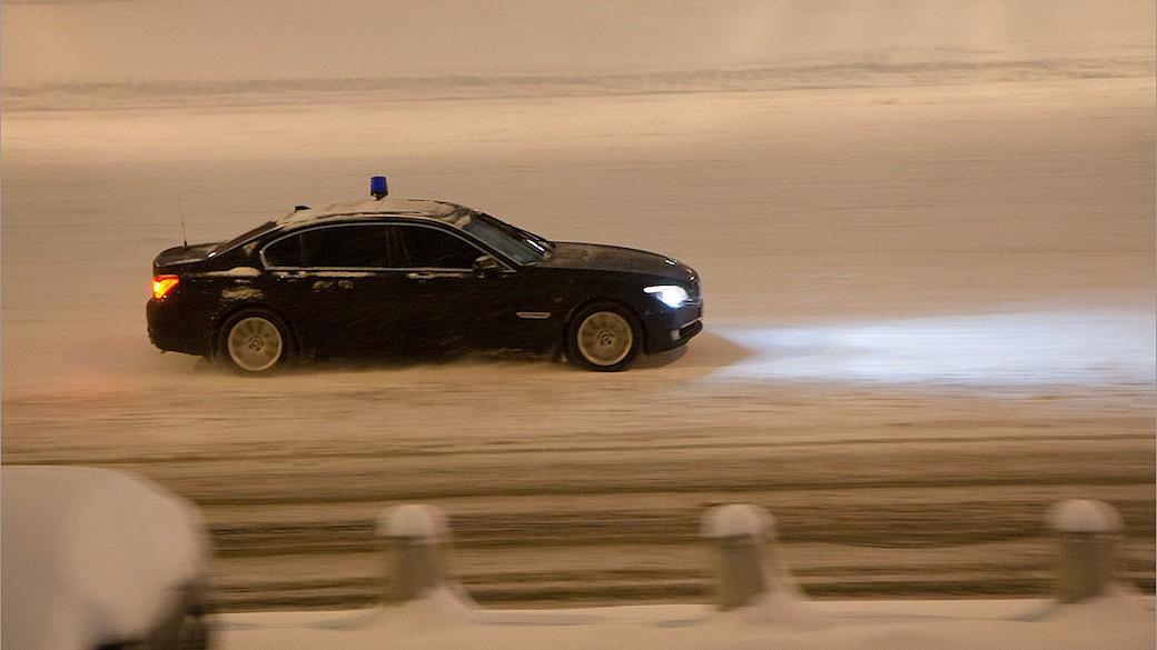 In Moskau bricht der Winter ein – und der Verkehr zusammen
