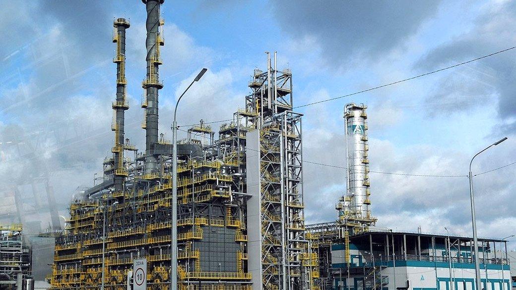 Petrochemieanlage in Tobolsk