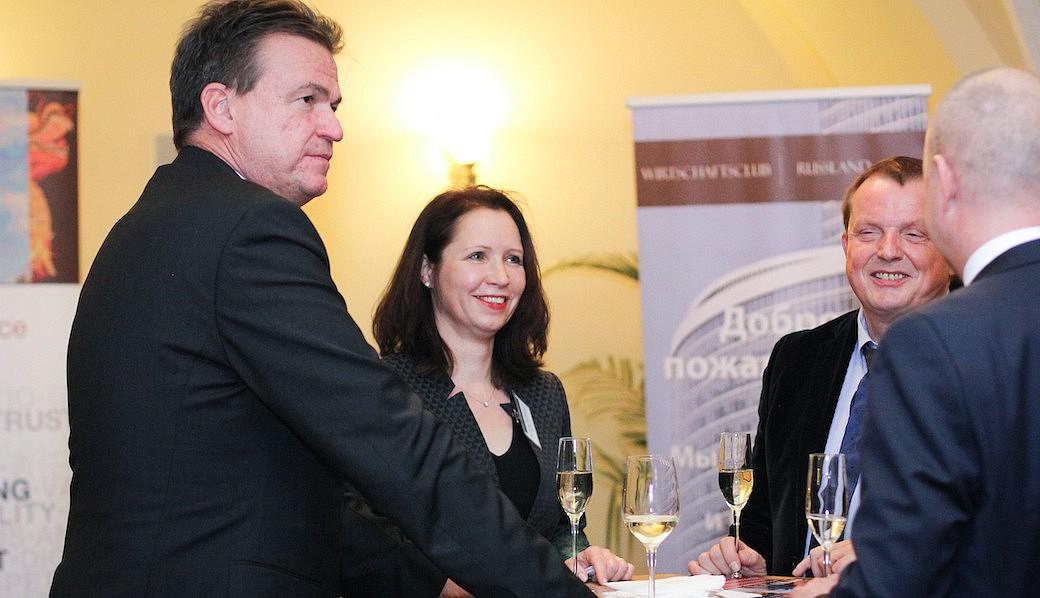 Wirtschaftsclub Russland, Neujahrsempfang