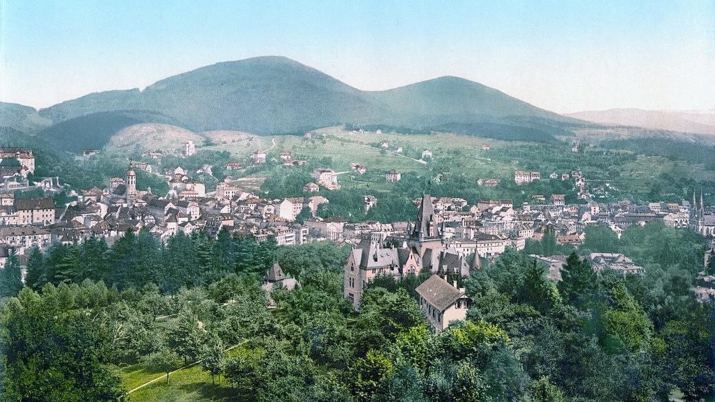 Baden-Baden um 1900