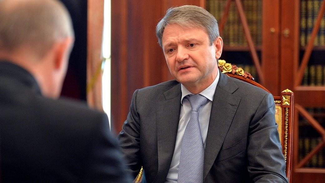 Treffen mit dem Minister für Landwirtschaft Alexander Tkatschow