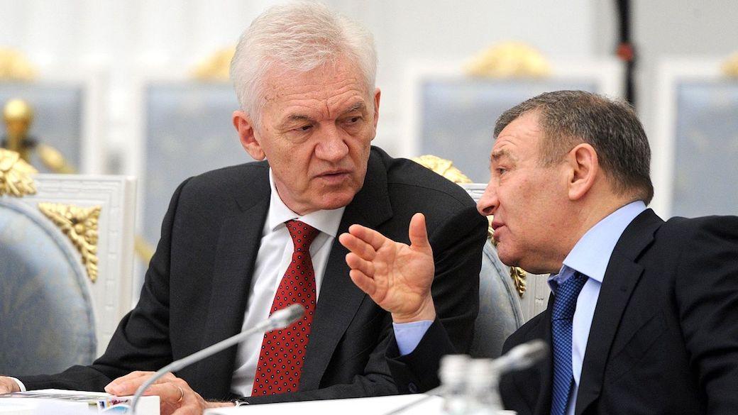 Gennadi Timtschenko und Arkadi Rotenberg