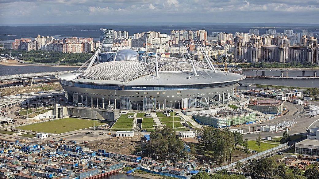 Krestowski-Stadion in Sankt Petersburg
