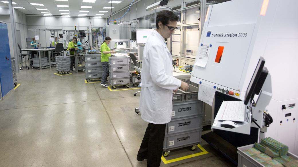 Phoenix Contact eröffnet Produktion in Russland