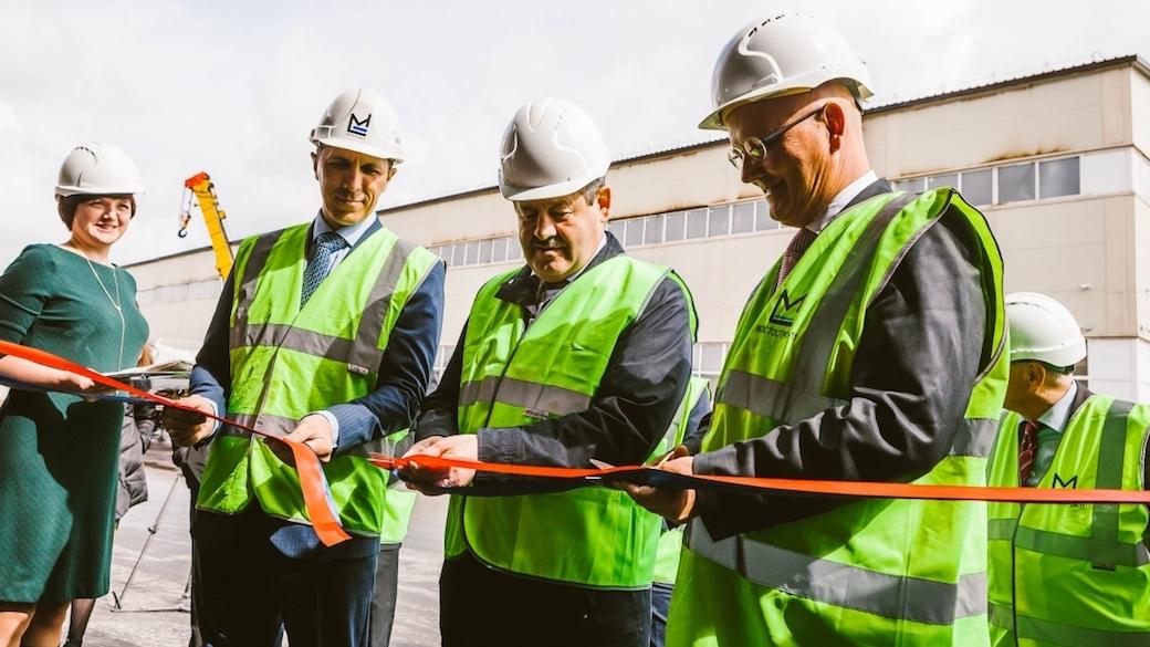 Das russische Stahlbau-Unternehmen Mostostroj-11 und der deutsche Anlagenbauer Maurer eröffnen eine gemeinsame Produktionsstätte in Russland.