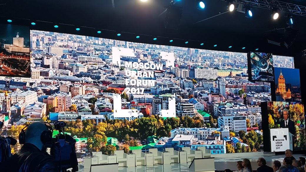 Moscow Urban Forum. Moskau soll Smart City werden.