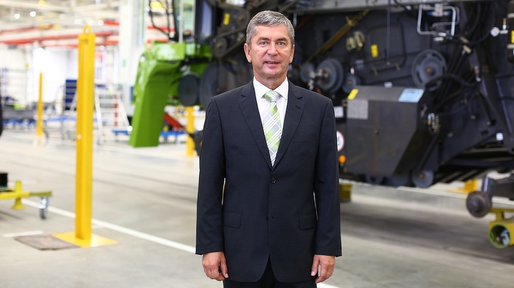 Prof. Dr.-Ing. Ralf Bendisch | CLAAS in Russland