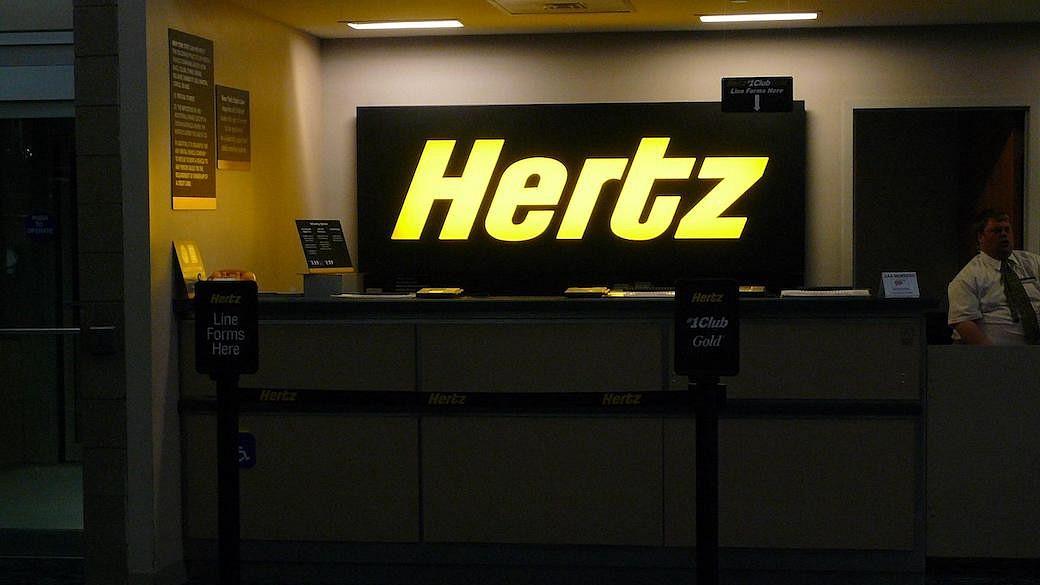 Autoverleiher Hertz