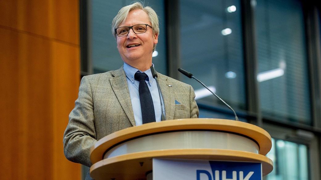 Dr. Martin Wansleben, Hauptgeschäftsführer des DIHK e.V.