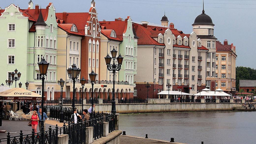 Historisches Zentrum in Kaliningrad