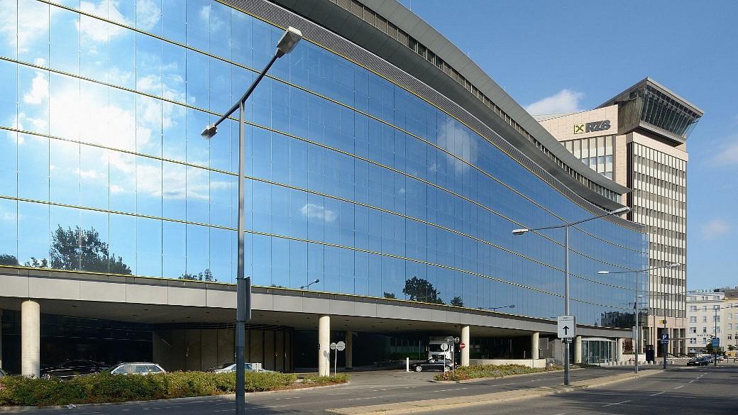 Die Zentrale der Raiffeisen Bank International.