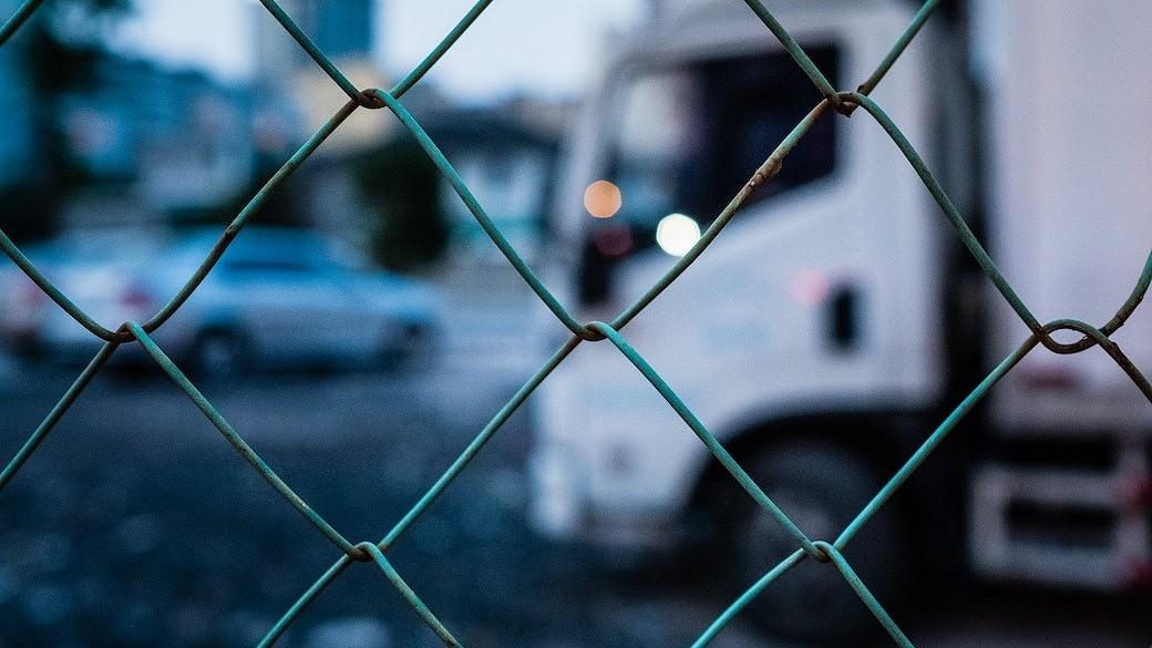 Lkw-Schmuggel hinter einer Landesgrenze