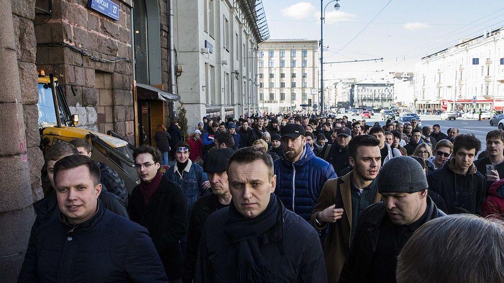 Anti-Korruptionsproteste in Russland