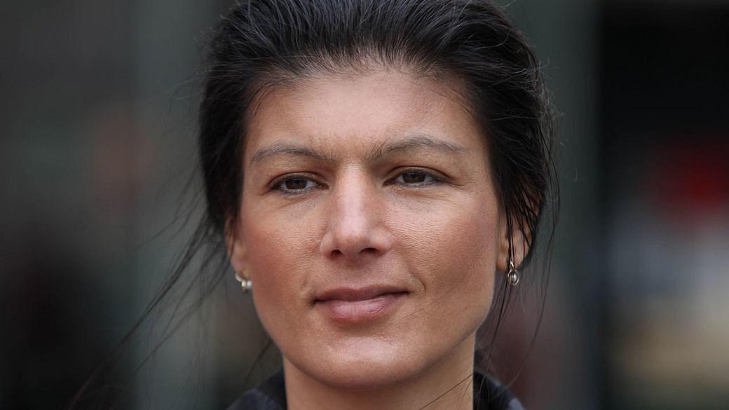 LINKEN-Spitzenkandidatin Sahra Wagenknecht
