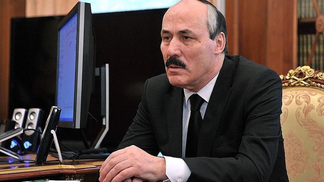 Der ehemalige Präsident von Dagestan, Ramazan Abdulatipow