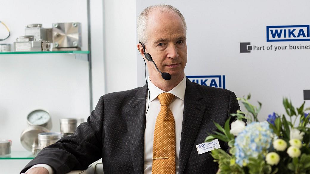 Oleg Gontscharow, Generaldirektor von WIKA Mera in Russland.