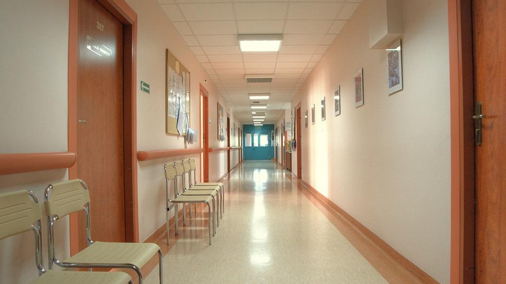 Korridor in einem Krankenhaus