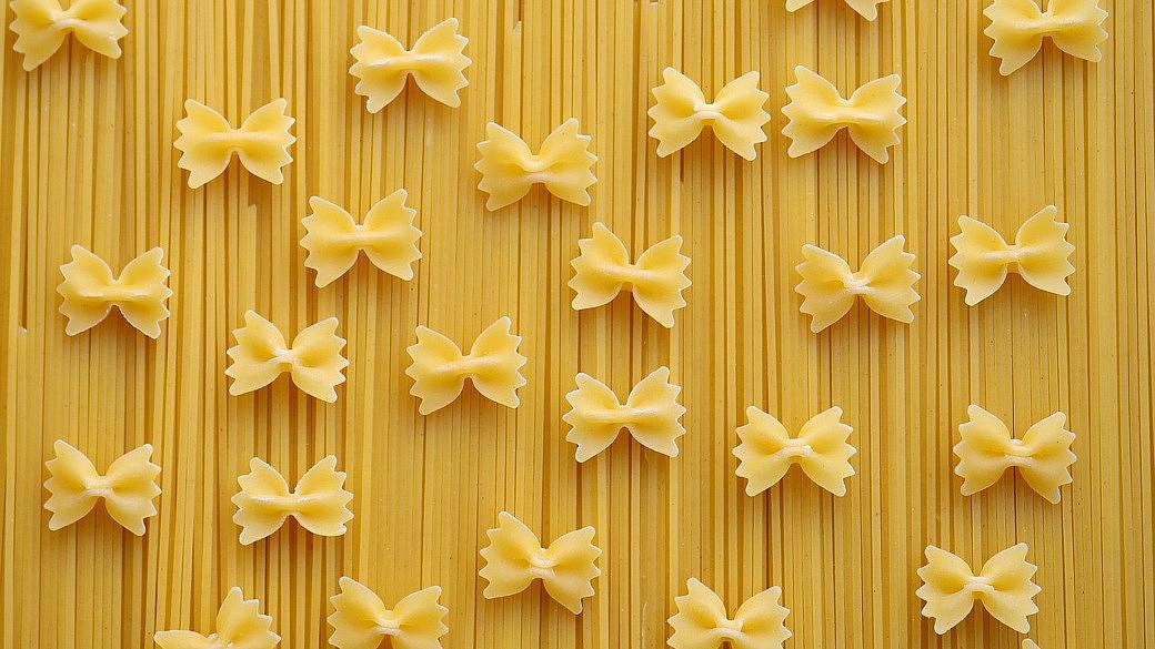 Spaghetti und Farfalle