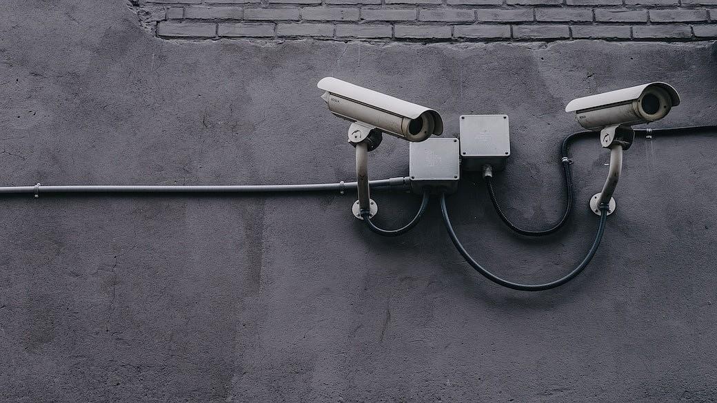 Überwachungskameras im öffentlichen Raum