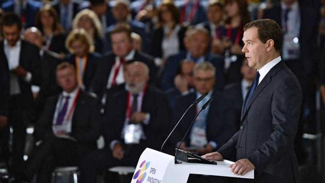 Regierungschef Dmitrij Medwedew