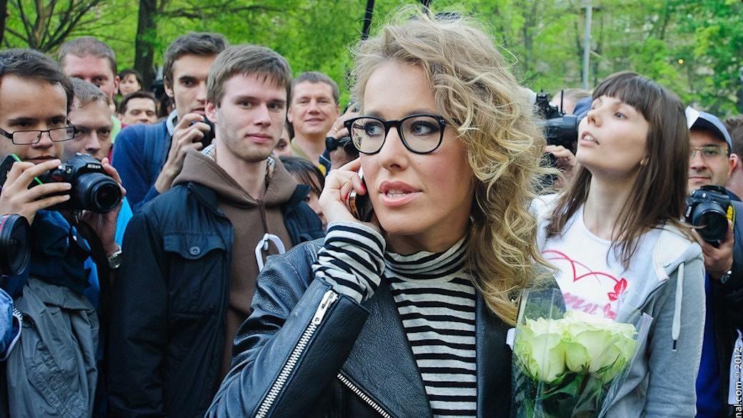 Xenia Sobtschak will gegen Wladimir Putin kandidieren