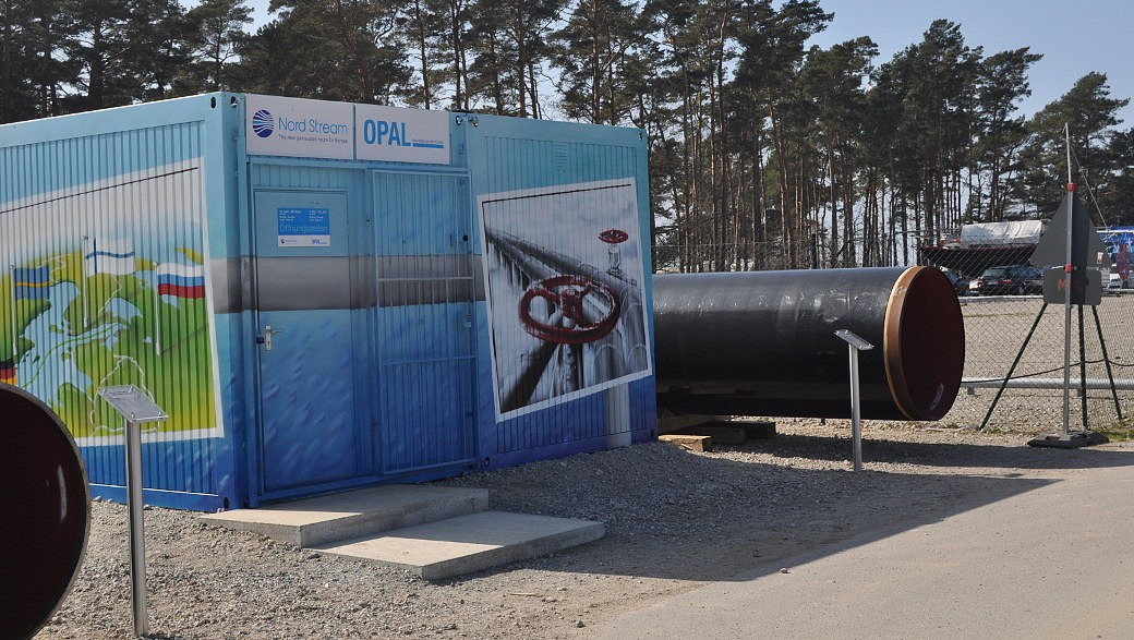 Baucontainer Nord Stream 2