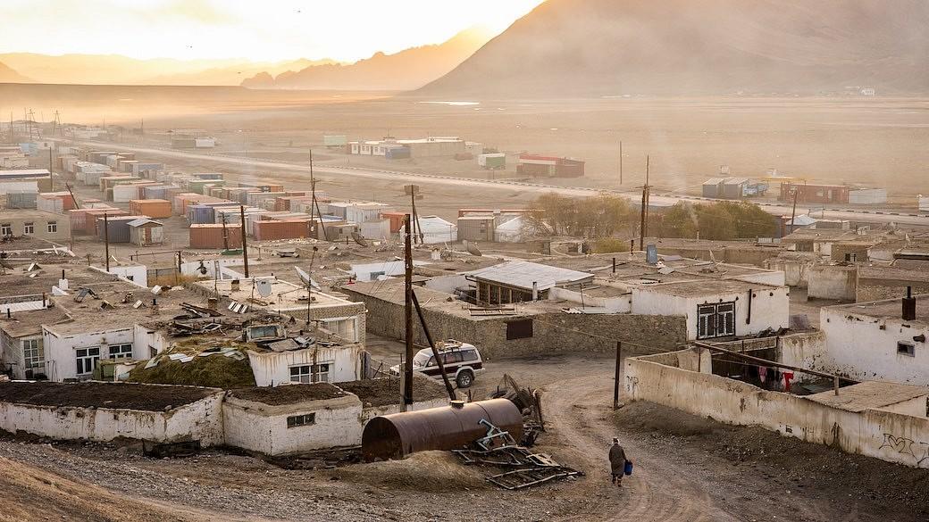 Dorf Murghob in Tadschikistan