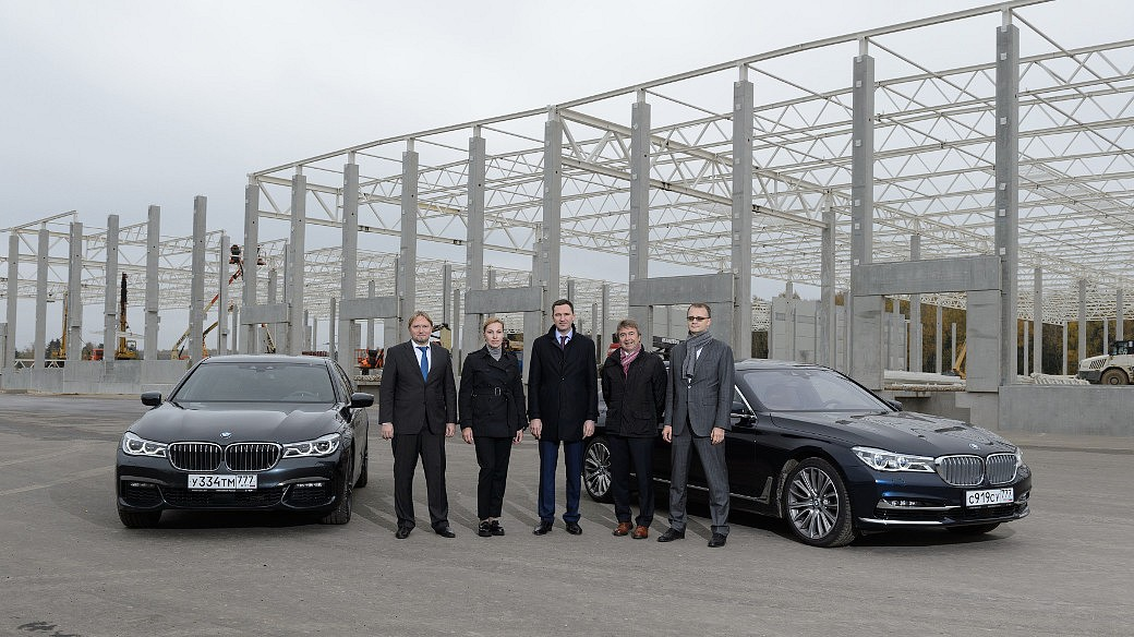 Neues BMW Logistik-Zentrum in Russland