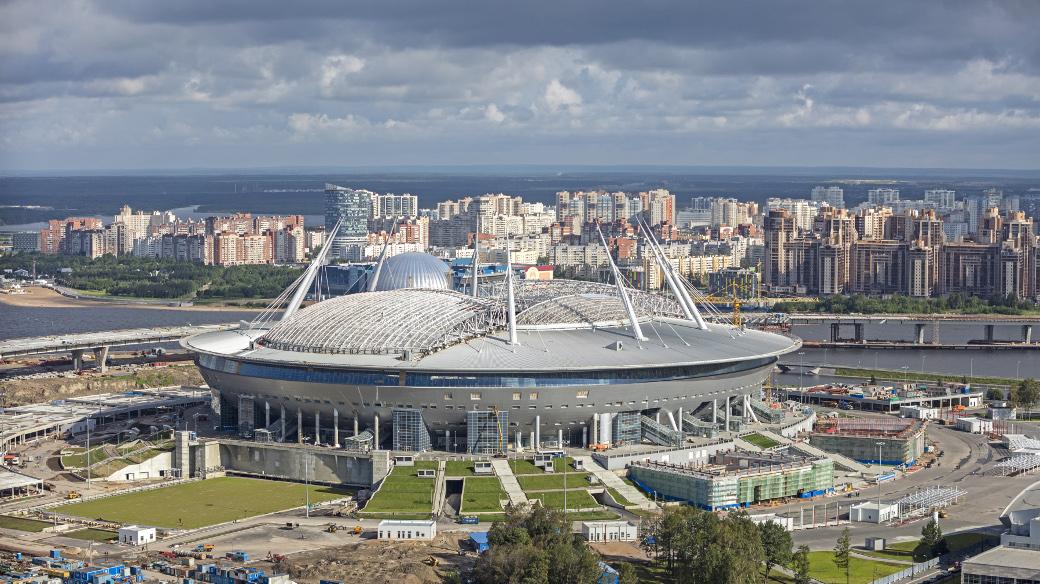 Krestowski-Stadion in Sankt-Petersburg