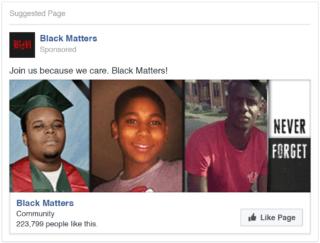 drei Männer, Black Matters