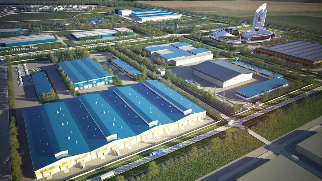 """Industriepark """"Maslowski"""" in Woronesch"""