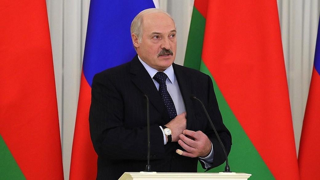 Weißrussischer Präsident Alexander Lukaschenko