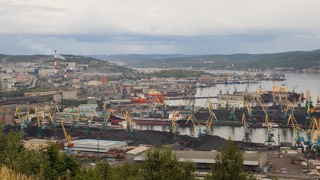 Hafen in Murmansk